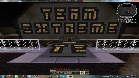 Minecraft Team Extreme Server 2013 04 10 Youtube