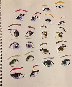 Disney eyes by LaurenGigglez on DeviantArt