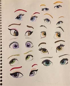 Disney eyes by LaurenGigglez on DeviantArt