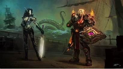 Warrior Wow Warcraft Shield Armor Sword Games