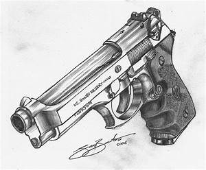 Beretta M92FS   Guns, Drawings and Tattoo