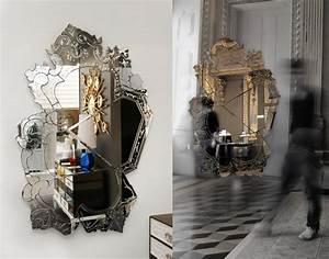 Wandspiegel Groß Ohne Rahmen : 25 designer wandspiegel in allen formen und f r alle einrichtungsstile ~ Bigdaddyawards.com Haus und Dekorationen