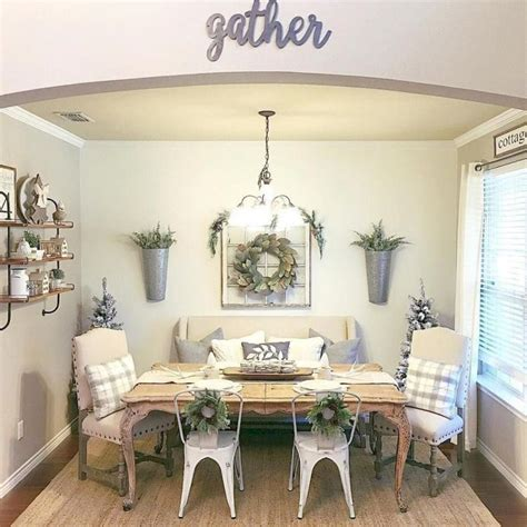 Perfect Farmhouse Style Dining Room Most Important