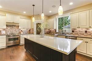 take a tour of the rta stores featured cabinets for With kitchen colors with white cabinets with oil change stickers free