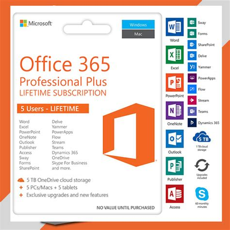 Office 365 Student by Deal Microsoft 174 Office 365 Pro Lifetime Licensed