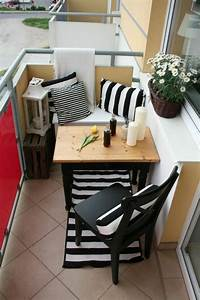 Balkonmöbel Für Kleinen Balkon : 60 inspirierende balkonideen so werden sie einen ~ Michelbontemps.com Haus und Dekorationen