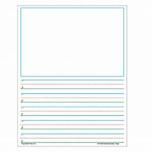 Smart start story paper grades 1 2 for Learning to write paper template