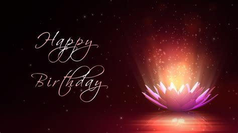 happy birthday motion graphics background animation