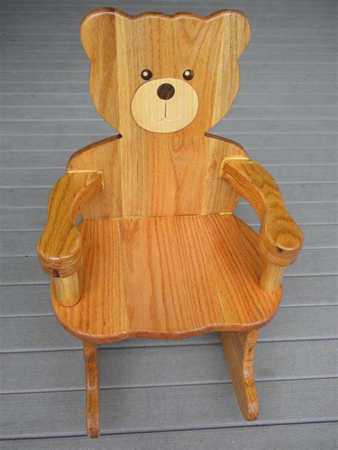 plans for teddy rocking chair plan 4