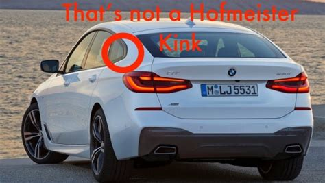 Bmw 6 Series Gt Wallpaper by Did Bmw Forget The Hofmeister On The New 6 Series Gt