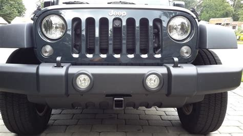 jeep front drawing 2017 jeep wrangler draw tite front mount trailer hitch