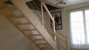Escalier Sur Mesure Prix : escalier en kit petit prix vente d 39 escalier en kit sur ~ Edinachiropracticcenter.com Idées de Décoration