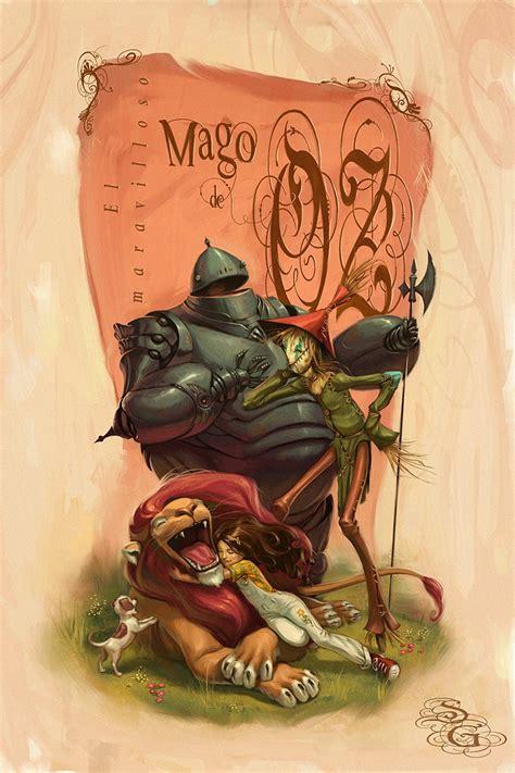 wonderful illustrations   wizard  oz