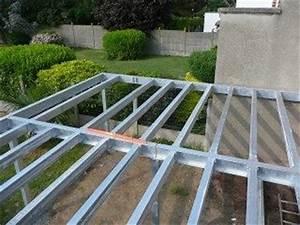 metal et concept terrasse metallique suspendue et With exceptional amenagement exterieur terrasse maison 12 cabane pilotis