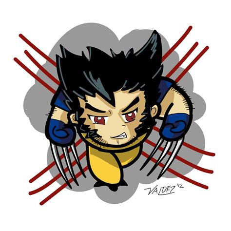 Chibi Wolverine By Valdezign On Deviantart