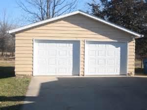 2 Car Garage Pole Barn Design