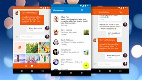 messenger app android s messenger gives android sms a new look advanced
