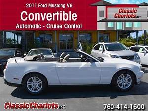 Used Convertible Near Me - 2011 Ford Mustang V6 Convertible with Automatic, and Cruise Control ...