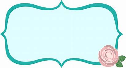 Vector Label Fancy Clip Clipart Shape Frame
