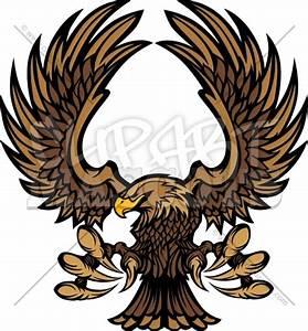 Hawk Mascot Logo Clipart Vector Graphic