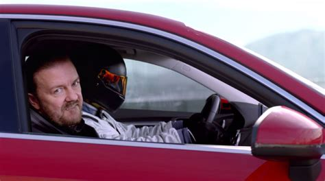audi  commercial  ricky gervais