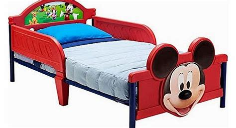 Mickey Mouse Bed by Disney Childrens Furniture Reviews