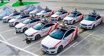Driving Didi Taxi Self China Shanghai Autonomous