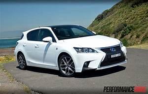 Lexus Ct 200h : lexus ct 200h f sport review video performancedrive ~ Medecine-chirurgie-esthetiques.com Avis de Voitures