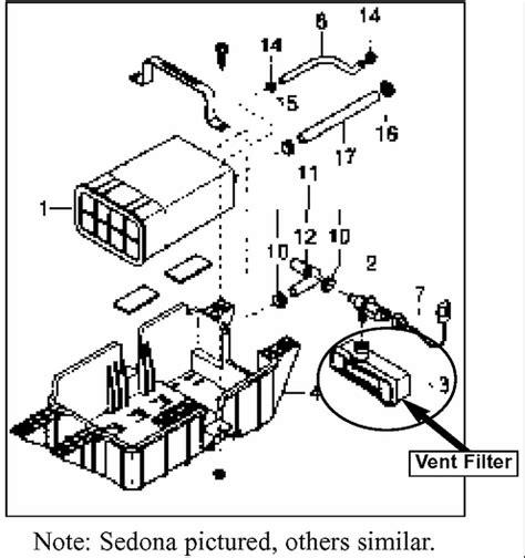 fix  kia sedona emission control valve circuit