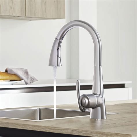 grohe kitchen sink taps grohe zedra sink mixer 32553000 deck mounted chrome 4103