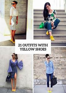 21 Cool Outfit Ideas With Yellow Shoes - Styleoholic