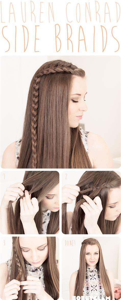 21 easy hair tutorials diy hairstyles