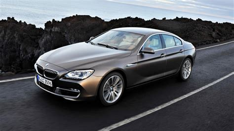 Bmw Reveals The 6 Series Gran Coupe