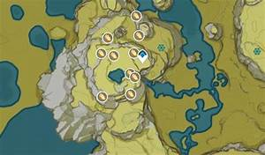 genshin, impact, cor, lapis, locations, , map, and, route
