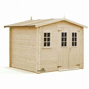 Abri De Jardin 6m2 : madeira abri de jardin en bois luby 6 6m2 28mm 2279 ~ Dailycaller-alerts.com Idées de Décoration