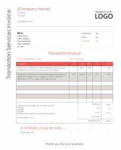 Invoice For Translation Your Translation Invoice 9 Point Blueprint Free Templates