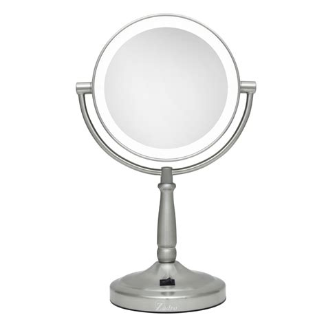 lighted magnifying mirror cordless illuminated 10x magnification mirror