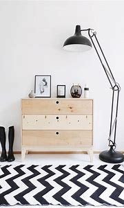 Minimalist, natural b&w interior. Meet our chest of ...