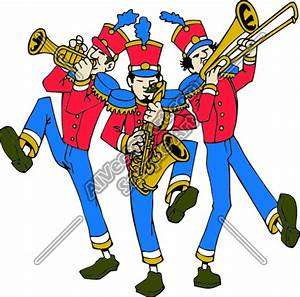 Cool Marching Band Clipart - Clipart Suggest
