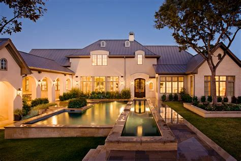 French Country Manor In Austin