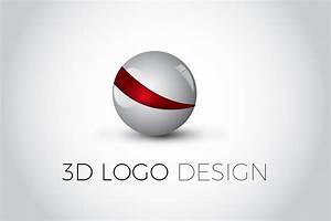 3D Glossy Ball Logo Design | Illustrator Tutorial - YouTube