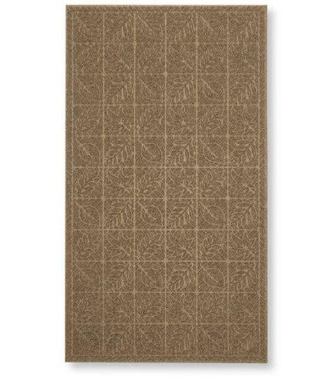 llbean doormat waterhog indoor doormat leaf pattern 32 quot x 56 quot waterhog