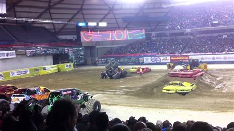 monster truck show spokane 2012 tacoma dome monster jam youtube