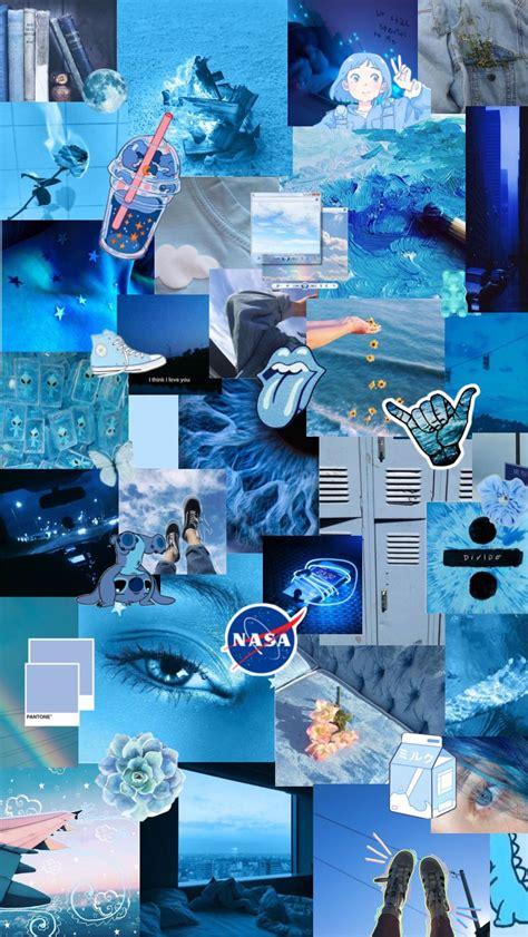 blue wallpaper aesthetics in 2020 iphone wallpaper