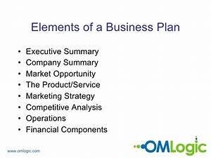 How to write a business plan ppt