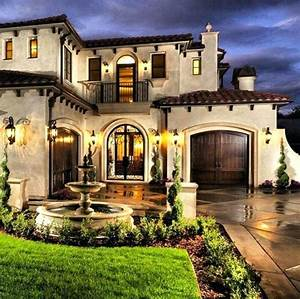 Mediterranean, Architecture, Style, House, French, Homes, Avenue, Country, Exteriors, U2013, Marylyonarts, Com
