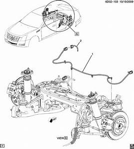 2011 Cadillac Cts Wiring Harness  Chassis