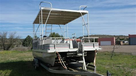 Pontoon With Upper Deck And Slide For Sale by J S Blog J S Upper Decks