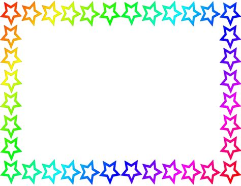 colorful border colorful page border clipart best