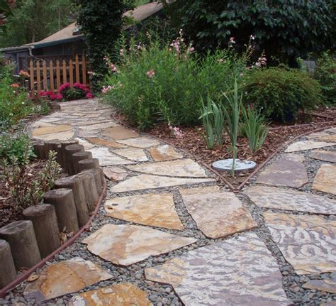 walkway edging material garden walkways tips and ideas quiet corner